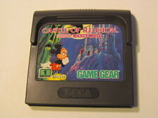SEGA GAME GEAR CASTLE OF ILLUSION STARRING MICKEY MOUSE (cartridge only)