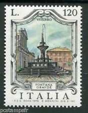 ITALIE 1979, timbre 1404, FONTAINE GRANDE VITERBO, neuf**
