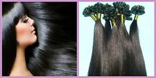 """Keratin U-Tip Hot Fusion 18"""" European Remy Hair Extensions 100 Strands Any Color"""