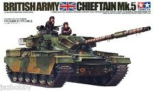 Tamiya 35068 1/35 Scale Military Model British Army Chieftain MK.5 Tank FV4201