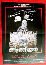 HUMONGOUS 1982 JANET JULIAN DAVID WALLACE PAUL LYNCH UNIQUE EXYU MOVIE POSTER