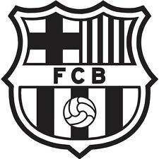 FC BARCELONA DECAL WINDOW CAR LAPTOP BARÇA Bumper Sticker