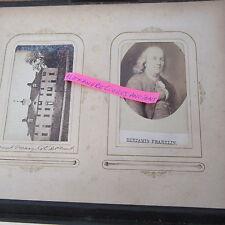VOYAGE AUX ETATS-UNIS 1860 Album photo de Léon Chotteau MAISON BLANCHE