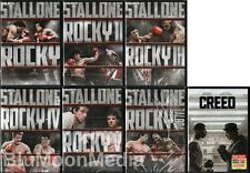 Rocky DVD Complete Collection 1 2 3 4 5 6 7 Balboa Creed 7 Movie Lot Set 1-7 NEW