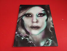 VERY RARE! LADY GAGA The Born This Way Ball program Tour Concert brochure