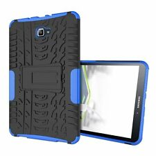 For Samsung Galaxy Tab A 2016(10.1) Heavy Duty Hybrid TPU PC Kick Stand Case