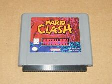 Mario Clash - Nintendo Virtual Boy - Game Only - FREE SHIPPING!