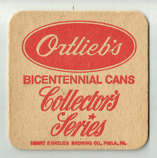 16 Ortlieb's Bicentennial Cans Collector's Series  Beer Coasters 1776 - 1976