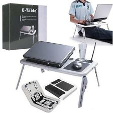 Multipurpose Portable Laptop E-Table Laptop Stand With Usb Cooling Fan