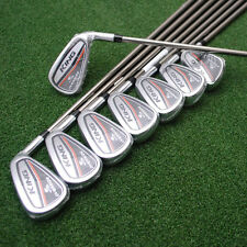 Cobra King OS 2017 Oversize Irons 4-PW+GW UST Recoil Graphite Senior Lite NEW