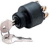 Push to Choke Ignition Starter Switch Johnson/Evinrude