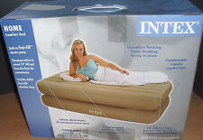 TWIN AIR BED RISING MATTRESS INFLATABLE PUMP & REMOTE 66945E / 66945
