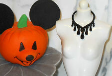 JEWELRY Barbie Halloween Party 2016 Target Haunted Spooky Black Necklace Costume