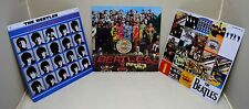 Job Lot Collectable BEATLES Album Art Metal Wall Signs 30cm Officially Licensed