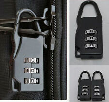 Travel Luggage Suitcase Combination Lock Padlocks Bag Case Password Digit Code X