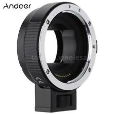 Auto Focus AF TTL Lens Adapter Ring for Canon EOS EF EF-S to SONY E NEX A7 D1J3