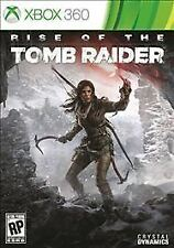 RISE OF THE TOMB RAIDER Microsoft XBox 360 Game