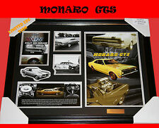 NEW!! FIRST GENERATION MONARO GTS MEMORABILIA LIMITED EDITION 499 FRAMED