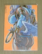 2013 Marty/Boo Angels/Demons sketch card Mel Uran 1/1