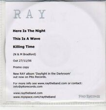 (DG336) Ray, Here is the Night - 2006 DJ CD