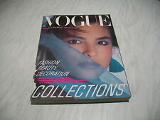 Vogue magazine # 1984 September UK issue cover by Paul Lange