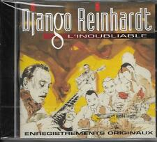 CD 20T DJANGO REINHARDT L'INOUBLIABLE BEST OF 1992 NEUF SCELLE FRANCE