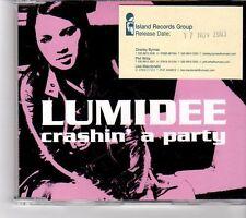 (FM535) Lumidee, Crashin' A Party - 2003 DJ CD