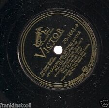 Phil Moore Four on 78 rpm Victor 20-1641: My Dreams are Getting Better