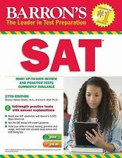 Barron's SAT, 27th Edition : Most Up-To Date Review and Practice Tests