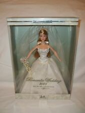 New 2001 Romantic Wedding Barbie 2nd In A Series The Bridal Collection #29438