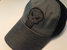 Marvel The Punisher Baseball Cap Grey Embroidered NEW NWT NYC Seller