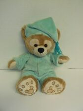 Disney parks  Walt Disney World My First Duffy Bear green pajamas EUC 14""