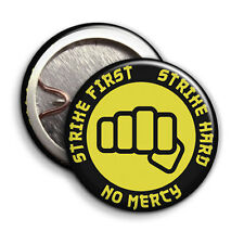 Karate Kid. Strike First Logo - Button Badge - 25mm 1 inch - Parody Style
