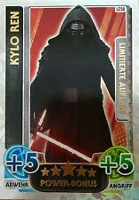Force Attax - Star Wars Movie Card Serie 4 - Limitiert LESB  Kylo Ren