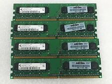 HP 2GB( 4X 512MB) 1RX8 PC2-5300U MEMORY DDR2 667MHz 240pin CL4 377725-888