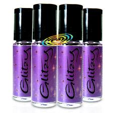 4x Lipcote Glitzy Glitter Lip Gloss Lipstick Sealer INDIGO