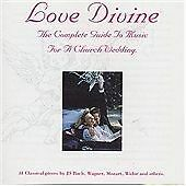 Love Divine - The Complete Guide to Music for Church Wedding - CD