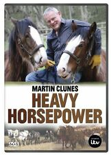 Martin Clunes - Heavy Horsepower (New DVD) Clydesdale Suffolk Punch horses Horse