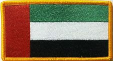 United Arab Emirates Flag Patch With VELCRO® Brand Fastener Military Emblem #19