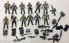 HK Design - CHAP MEI Army Action 3.75 Figure Lot W/ Accessories! See Pics!
