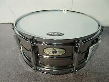 "Pearl Custom Alloy SensiTone Snare Drum 14X5.5"" SH1455S/C Brushed Nickel Plated"
