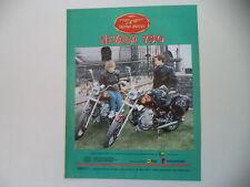 advertising Pubblicità 1991 MOTO GUZZI NEVADA 750