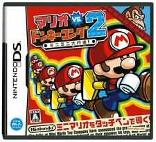 Used Nintendo DS Mario vs. Donkey Kong 2 Japan Import (Free Shipping)