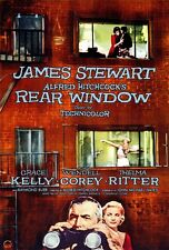 "REAR WINDOW Movie Poster [Licensed-NEW-USA] 27x40"" Theater Size Hitchcock 1954"