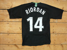 "CELTIC Football Shirt ""RIORDAN 14""  XS Adult (Lrg YTH) Celtic FC soccer jersey"