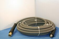 "50' Gray Non-Marking Pressure Washer Hose 3/8"" x 50 ft. 4000 PSI"