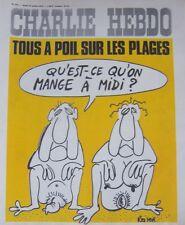 CHARLIE HEBDO No 245 JUILLET 1975 REISER TOUS A POIL SUR LES PLAGES