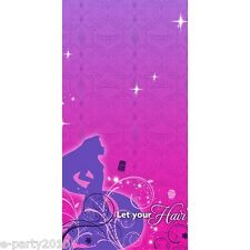 TANGLED SPARKLE PLASTIC TABLECOVER ~ Birthday Party Supplies Decorations Disney