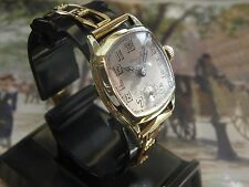 .SERVICED 1920`s YELLOW GOLD FILLED  ART DECO GRUEN.... CUSHION CASE MEN`S WATCH