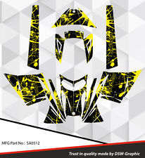 SLED WRAP DECAL STICKER GRAPHICS KIT FOR SKI-DOO REV MXZ SNOWMOBILE 03-07 SA0512